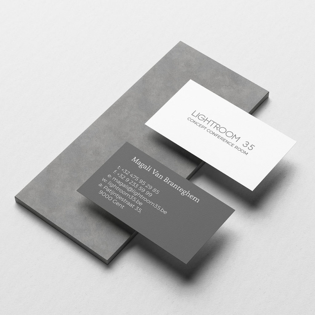 Lightroom 35 Business Card
