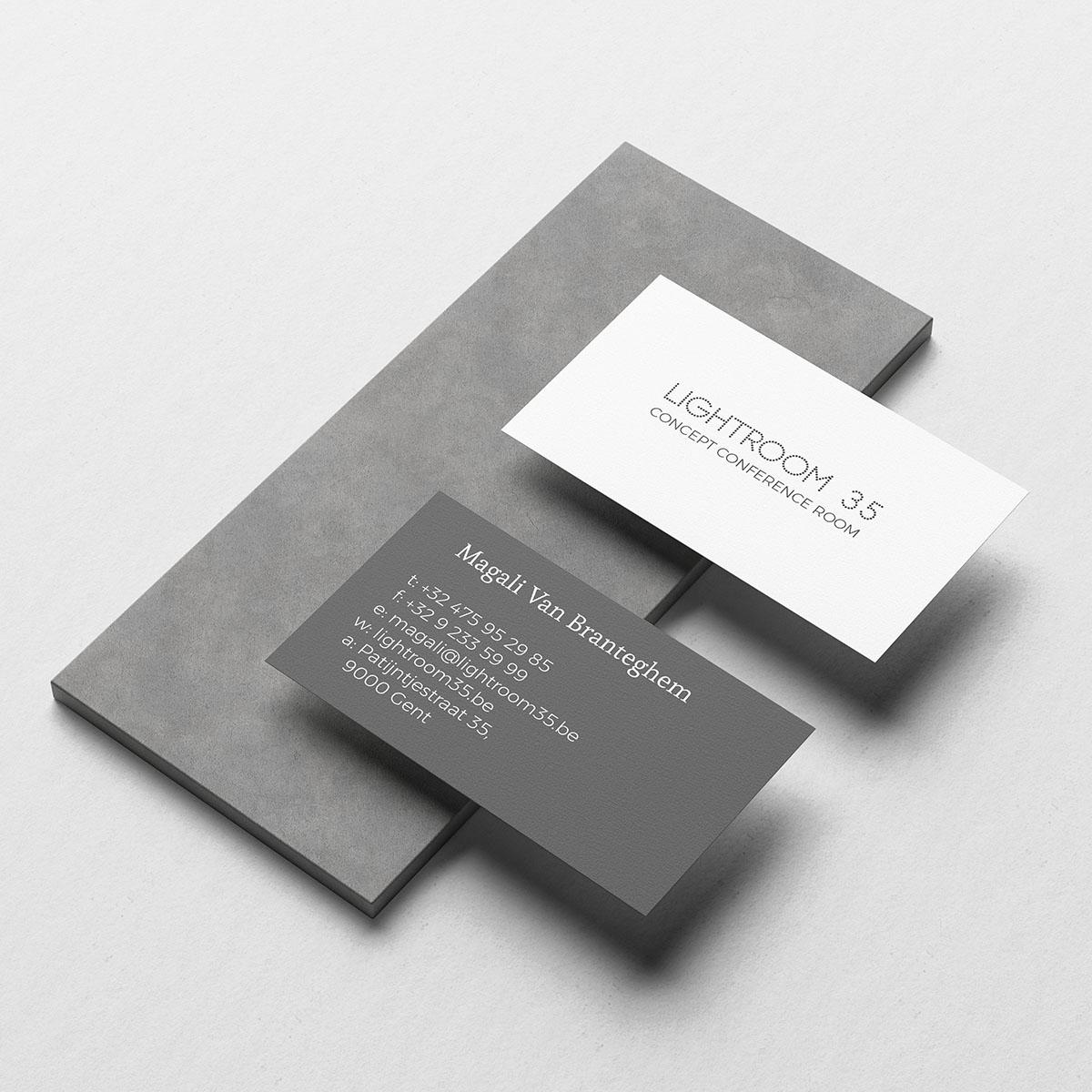 Lightroom 35 Business Card